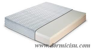 Materasso Memory Tipo Lusso 23-6  Sfoderabile  - sezione