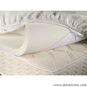 Topper in Memory Foam Sfoderabile - Dormicisu.com