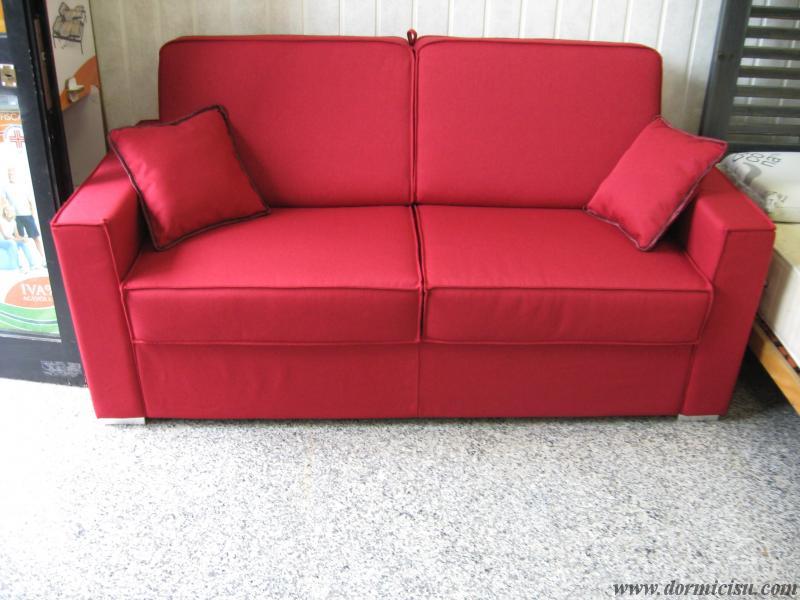 Divano letto mod dandy materasso alto 18 cm for Materasso divano letto