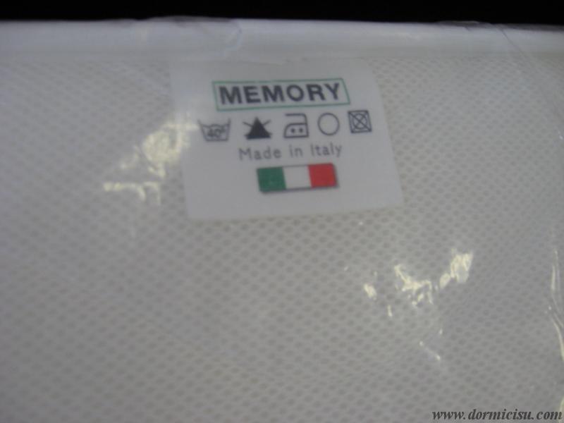 dettaglio materasso in memory