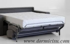 Divano letto mod. Notturno MATERASSO alto 18 cm - Dormicisu.com