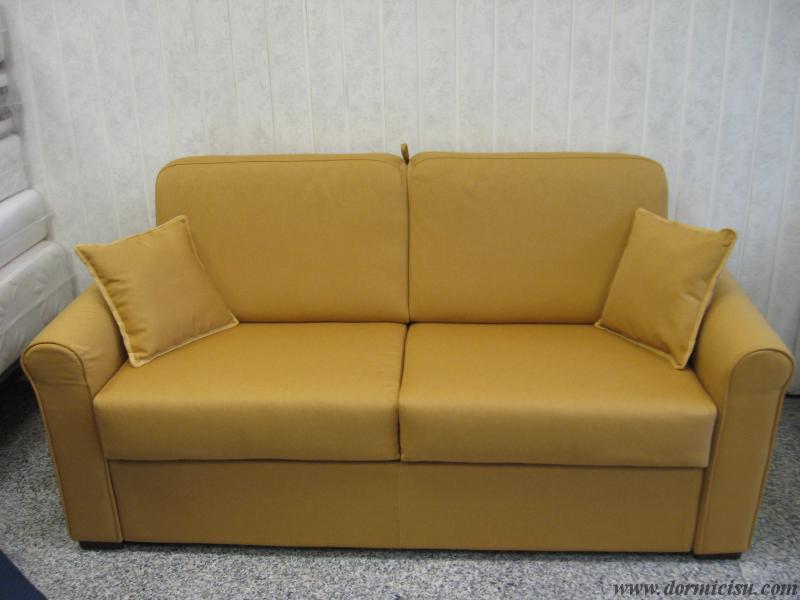 Divano letto mod sesamo materasso alto 18 cm for Divano letto 120x190