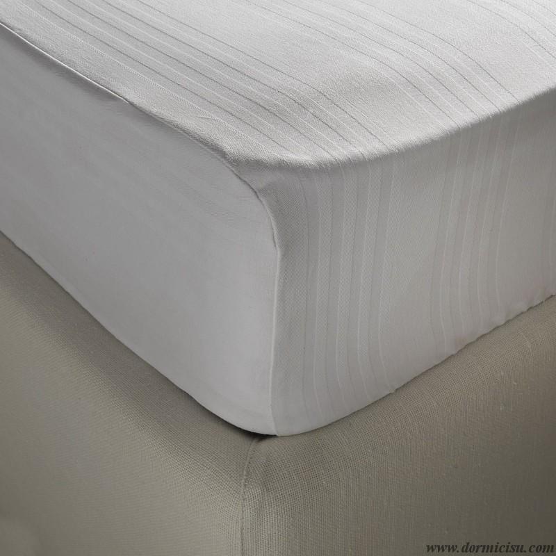 coprimaterasso posizionato sul materasso