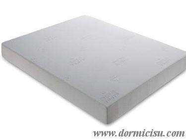 panoramica del materasso comprensivo di rivestimento