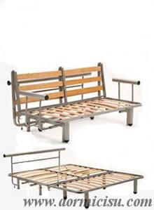 dettaglio meccaniche divano compatibili con il materasso