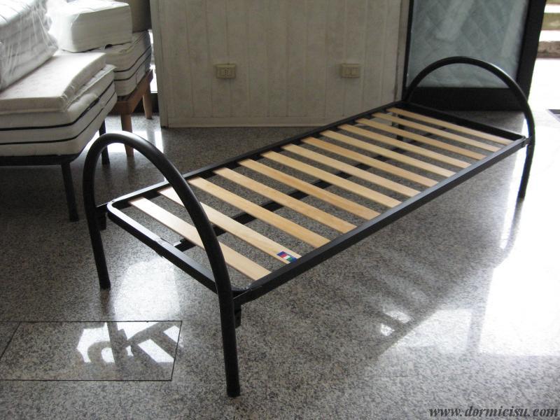 panoramica del letto montato