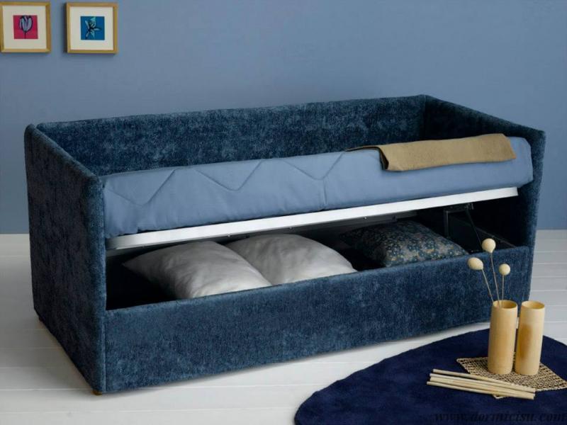 divano night moderno contenitore aperto