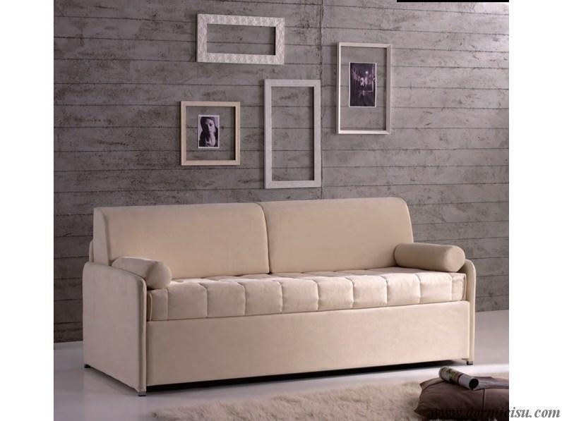 divano letto moderno con secondo letto chiuso