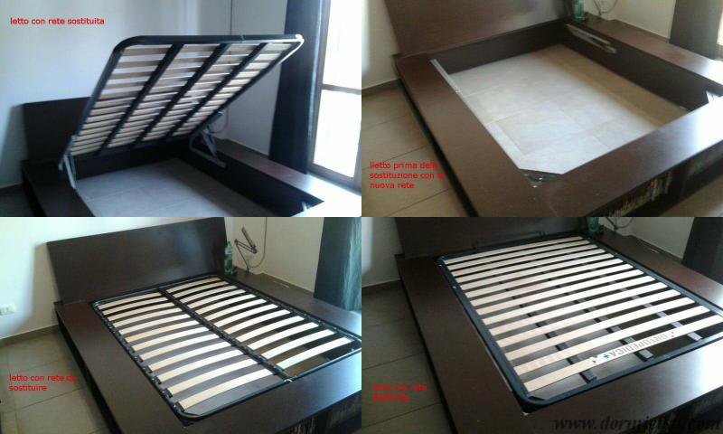 Sostituzione rete per letto contenitore - Rete per letto contenitore ...
