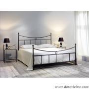 letto ferro battuto modello Gabbiano