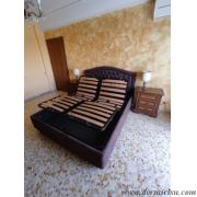 panoramica del letto con le reti alzate