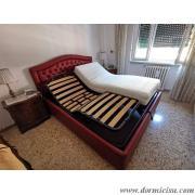 panoramica del letto con 2 reti alzate