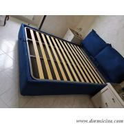 panoramica del letto foto indicativa