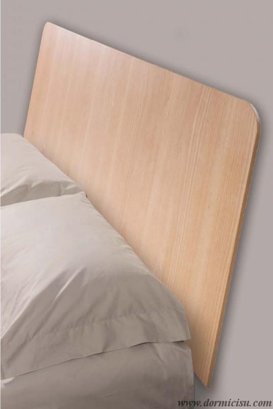 dettaglio testata in legno