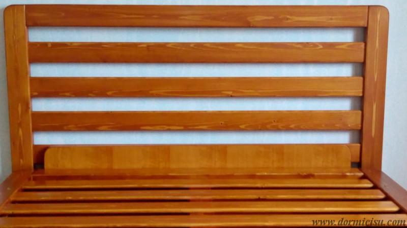 Testata tutto legno massello disponibile come accessorio.Vedi prodotti correlati.