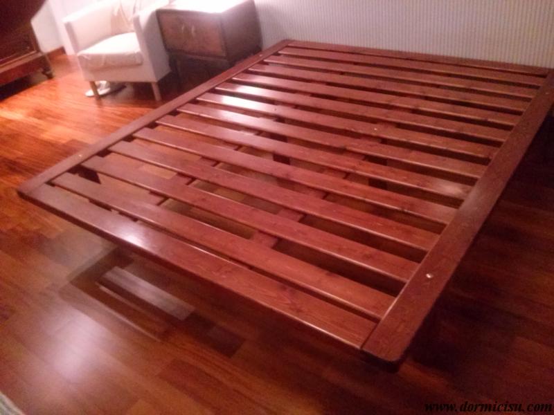 Rete in legno massello - Rete letto legno ...