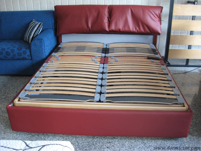 panoramica della rete inserita nel letto contenitore.