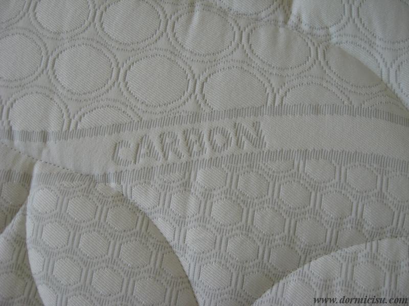 dettaglio tessuto carbon antiacaro
